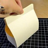 便捷纸盒子手工折纸