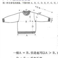 毛衣尺寸巧计算 棒针编织教程及技巧