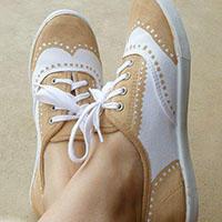 布洛克鞋手工绘制教程