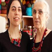 土耳其母女钩编首饰设计 工作生活与爱都在一起
