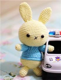 超萌系列之钩针萌兔兔玩偶