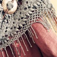 钩针珠饰流苏教程