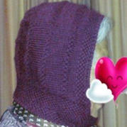 送老人冬季御寒棒针编织风雪帽