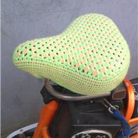 自行车、电动车钩针编织座套文字图解