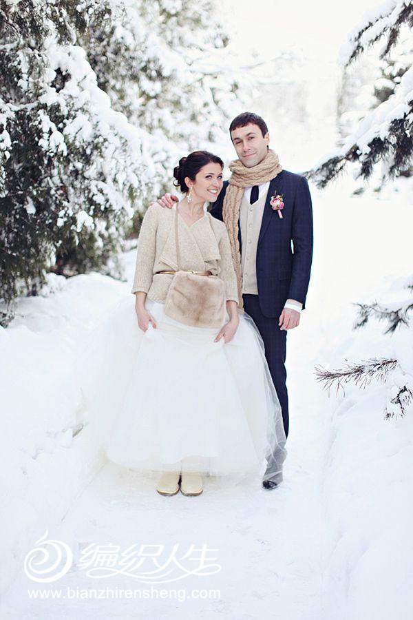 针织时尚之冬日婚礼暖搭配