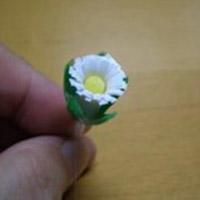 吸管改造小菊花教程