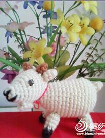 羊年织羊之钩针编织小山羊玩偶图解教程