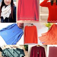 云绒作品(一)9款手工编织羊绒毛衣款式