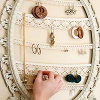 废物利用制作首饰收藏架