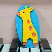 不织布小动物装饰手工制作