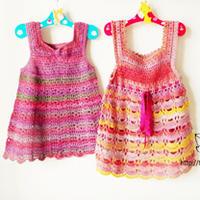 两款可爱婴幼儿钩针背心裙