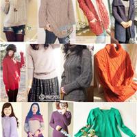16款女士棒针毛衣精品汇总(2015年2月)
