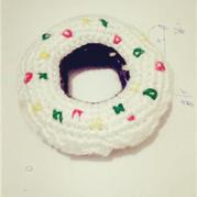 钩针制甜品-甜甜圈图解教程
