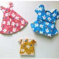 折纸女生连衣裙手工制作