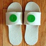 不织布拖鞋简单手工制作