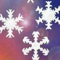 手工剪纸制作雪花窗花的方法
