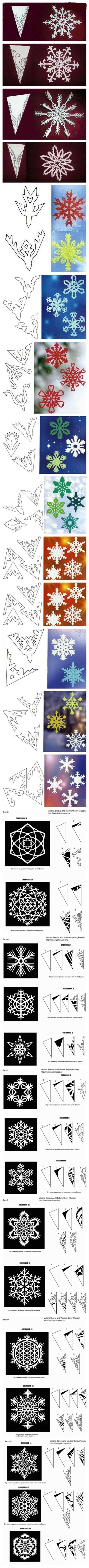剪纸是很多人都非常喜欢的,如果是遇到自己喜欢的花样一定是很幸福的事。其实小编想说,雪花的样式不就是很好看呢,如果以前大家没有仔细观察,今天不妨来仔细看下吧!   工具/原料   剪刀、纸   步骤方法   雪花剪纸方法大全,各种图案的雪花都可以通过简单剪纸得到。很简单漂亮的小手工制作,小伙伴们都来试试看吧,剪出很多雪花贴到玻璃上,体验一下夏天飘雪花的奇异感受。