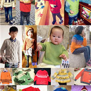17款儿童潮款棒针毛衣精品汇总(2015年1~2月)