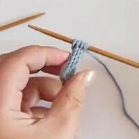 绳子的织法 棒针编织绳子的视频教程