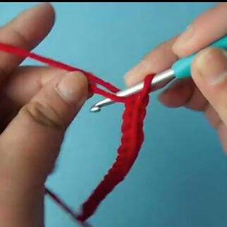 绳子的钩法 钩针编织双辫子的视频教程