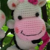 钩针毛线玩偶之幸福小奶牛视频教程