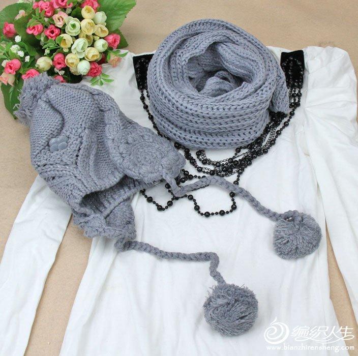 2011新款手工围巾编织图片