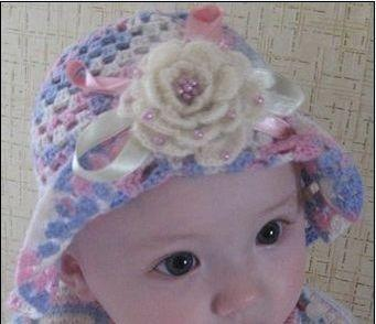 2011新款宝宝毛线帽编织图案全集