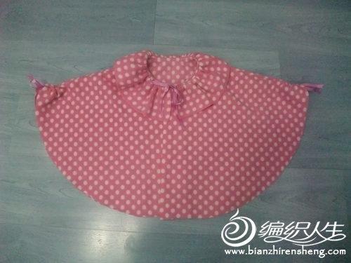 一款超可爱宝宝小披肩制作方法图解