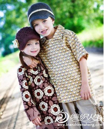 给宝宝编织可爱的毛线帽子