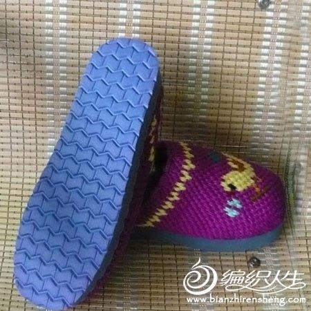 新款手工编织拖鞋图片