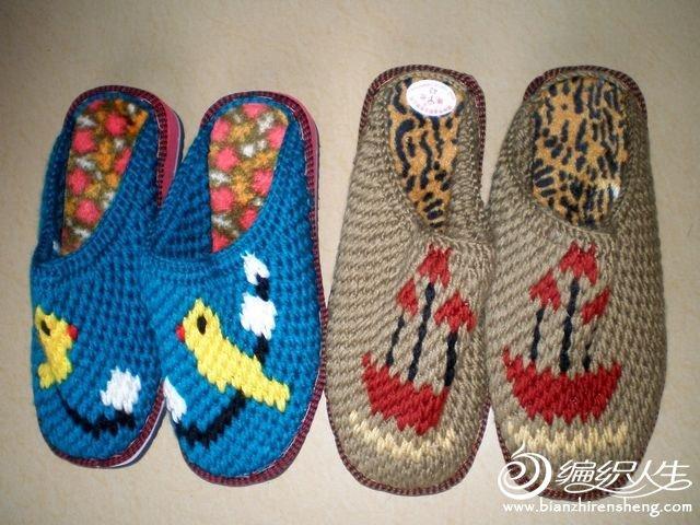 多款漂亮的手工编织拖鞋图片