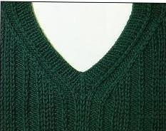 常用的毛衣领子编织样式