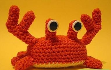 用毛线编织的创意玩偶图片