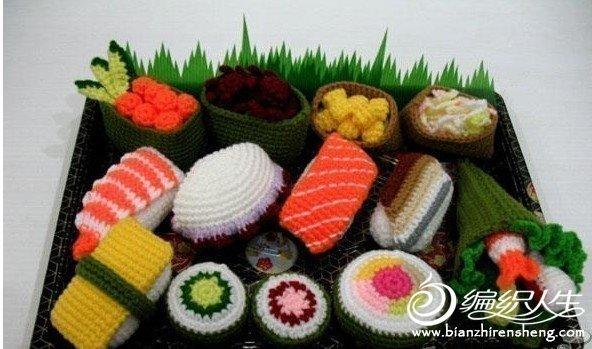 毛線編織豐富的美食  讓你感受手工編織的魅力