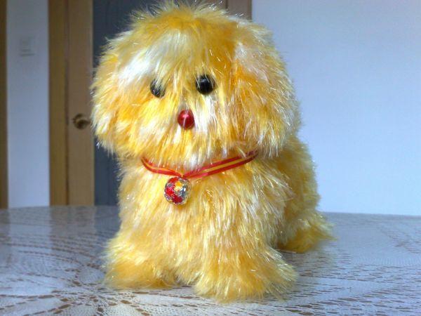 也秀秀我织的金犬(编织方法在8楼)加大乌龟和小猪的编织方法在27和28楼