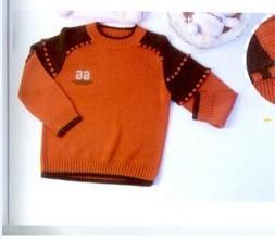 运动元素的男孩毛衣(2)