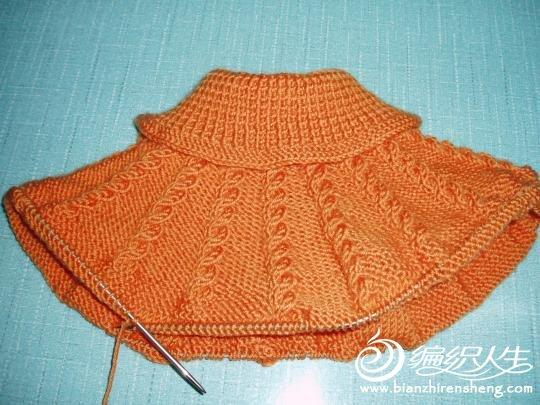 一件超可爱宝宝毛衣编织教程