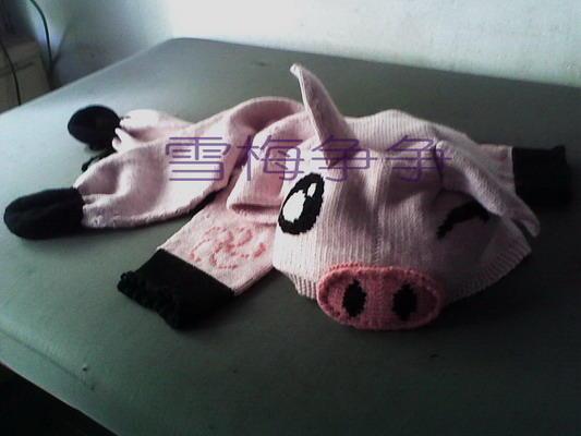 ★☆★☆★☆★☆★《 小猪毛衣 》★☆★☆★☆★☆★--雪梅争争