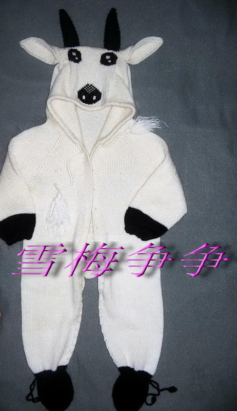 ★★★★★★十二生肖之八《小羊毛衣》★★★★★★--雪梅争争