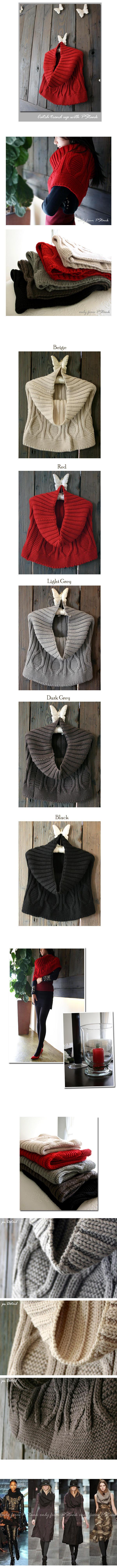 时下韩国最时尚的围巾,不妨一试