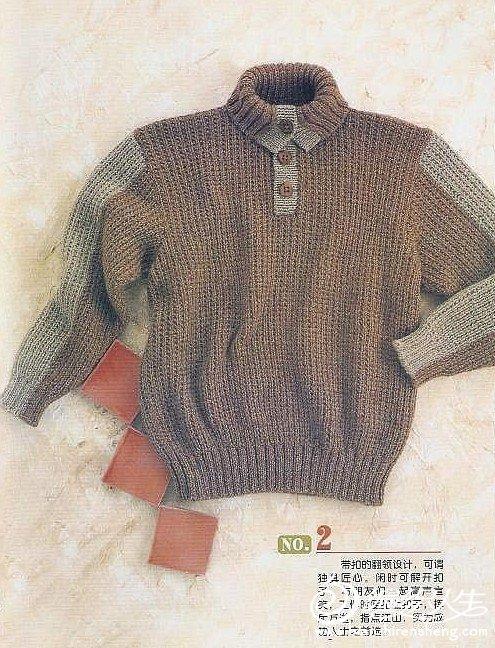 多款时尚男式毛衣教程