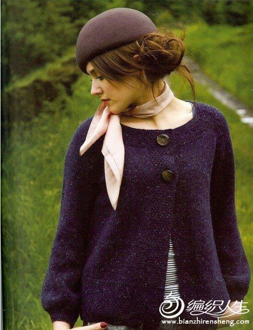 百搭时尚女士针织毛衣教程