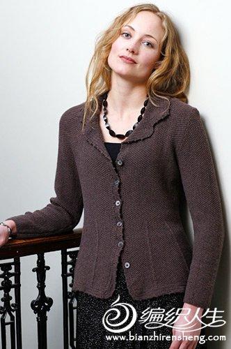 少女开衫毛衣款式及图片_各种经典女式开衫毛衣的图片-编织教程-编织人生