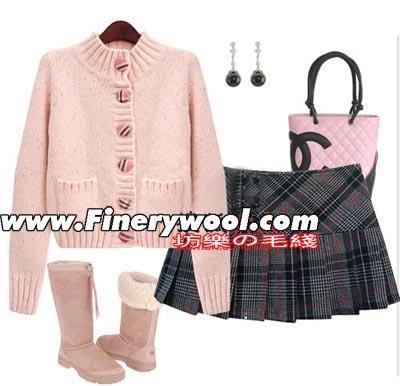 既保暖又时尚的粗线棒针毛衣 粗毛线衣的四种最佳穿法