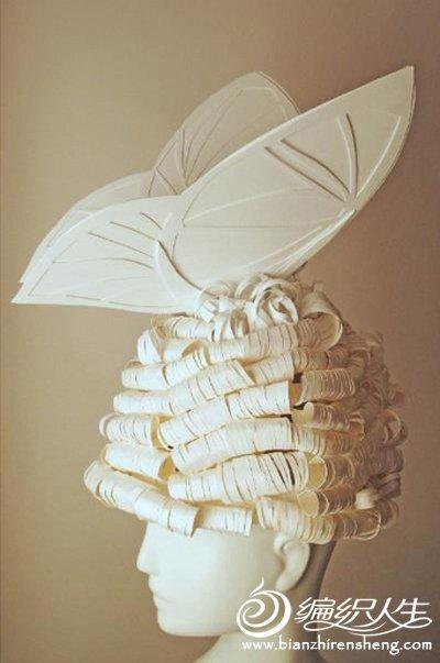 艺术折纸大全 唯美的折纸手工活 以假乱真的折纸发型图片