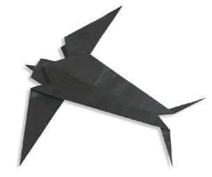 折纸大全之燕子折纸教程