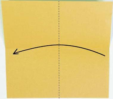 用的小环用六张正方形纸折成的,这里用的15cmt15cm的纸,用7.5cmt
