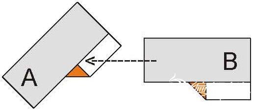 编织资讯 手工diy 折纸花环教程之平面纸环的详细制作图解    8,将