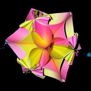6瓣花折法步骤