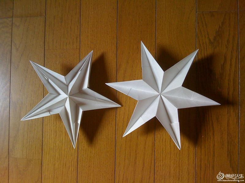 创意折纸 马和星星的图片